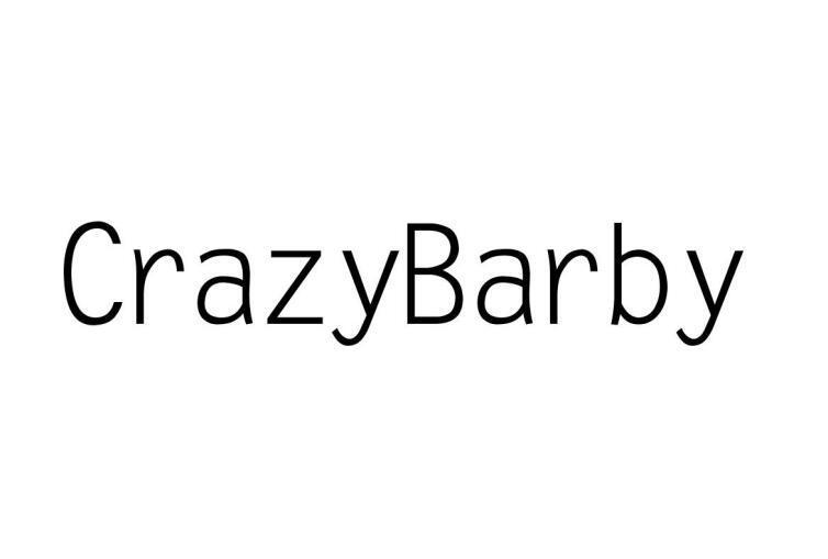 40类-材料加工CRAZYBARBY商标转让